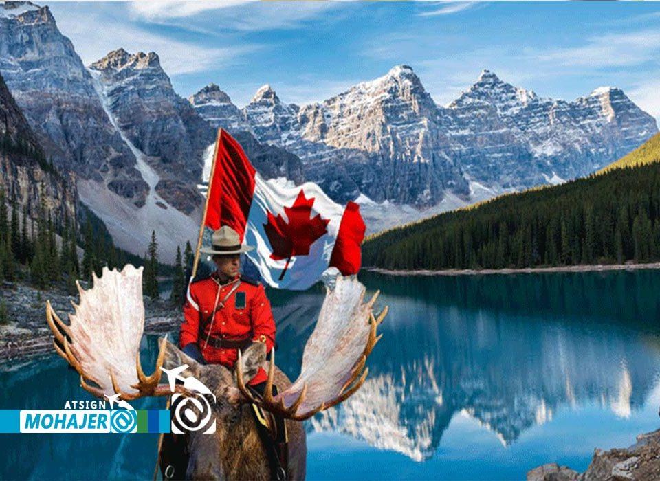 Canadian tourist visa کانادا